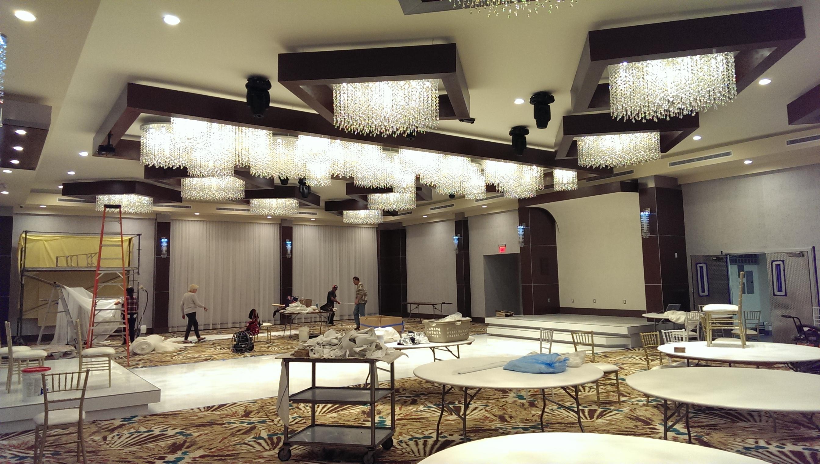 Banquet Hall Lighting Allen Productions